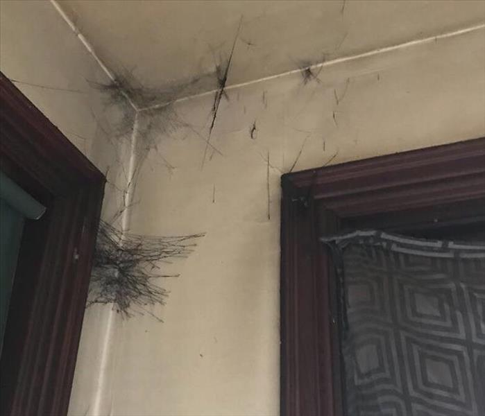 Soot Webs Form During House Fires Before