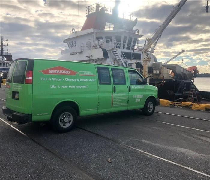 SERVPRO Cleans at Sea!