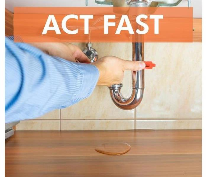 Act Fast When Water Leaks In Your Home